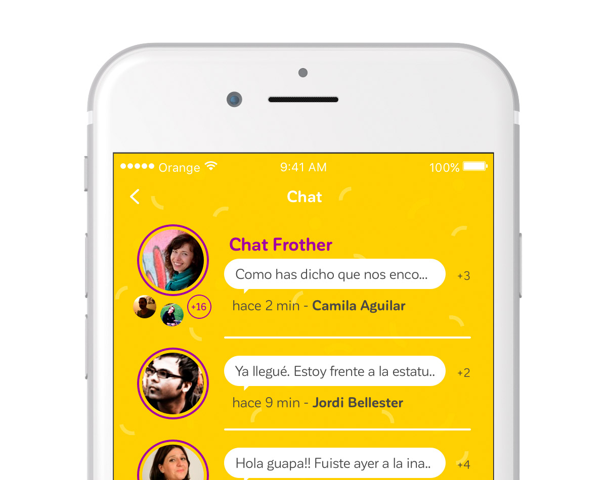 frother chat
